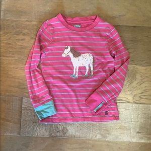 Girls size 8 Joules of England pony shirt